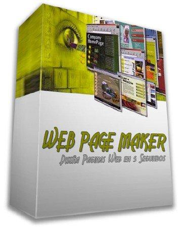 Web Page Maker 3.22 + Rus + Portable