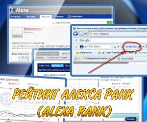 как улучшить показатель Alexa Rank?